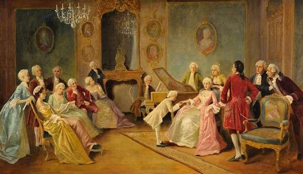 Salotto Di Romantica.Il Salotto Borghese Nel Romanticismo Lessons Tes Teach