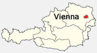 Cartina Austria Stradale.Vienna Capitale Dell Austria
