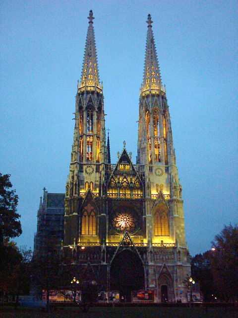 The Ring Vienna S Casual Luxury Hotel Vienna: Vienna: La Votivkirche (Chiesa Votiva
